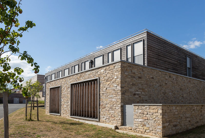 High School Clisson clad in Stonepanel