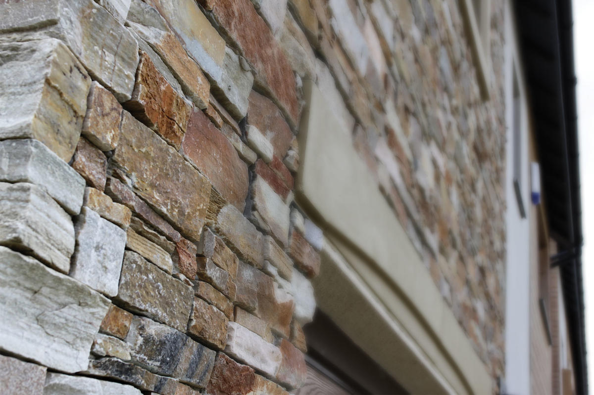 STONEPANEL™, a modern finish to the Best Zero Carbon housing development in the UK
