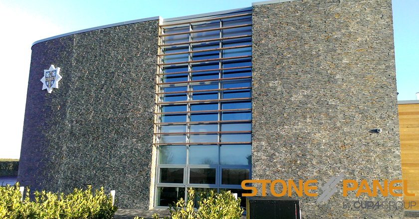 Sniperley Fire Station clad in STONEPANEL™