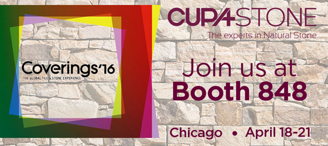 CUPA STONE at Coverings