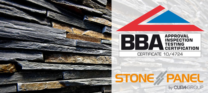 STONEPANEL™ renews BBA certification