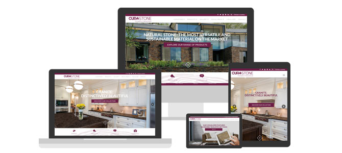 New CUPA STONE website