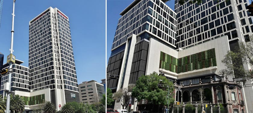 Mapfre Tower clad in AMARILLO ALPES Granite from CUPA STONE