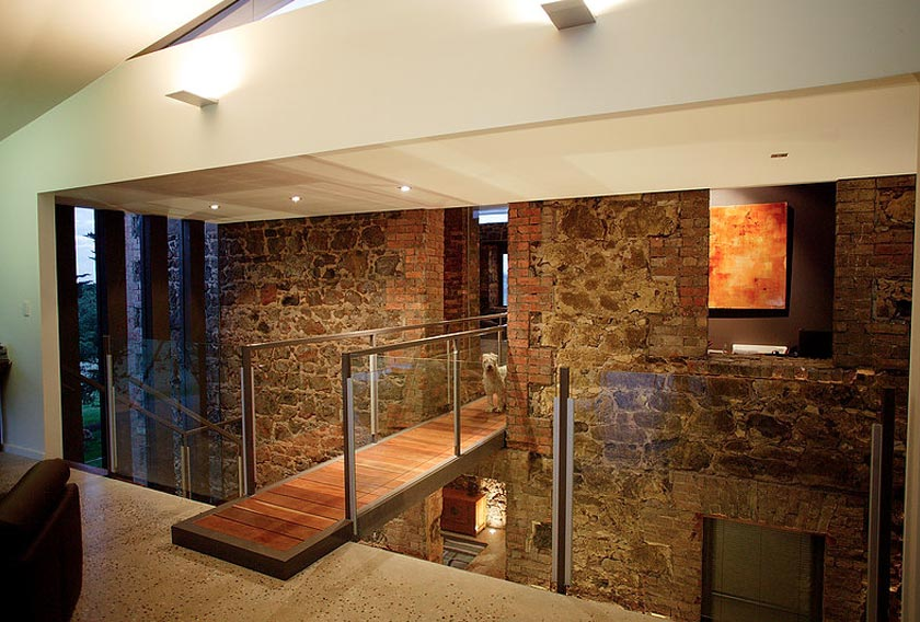 Goldfields Ruin Clunes by Centrum Architects