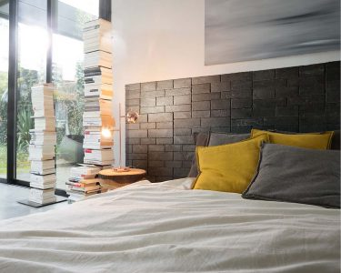 Create a special headboard with Stonetack™ in your bedroom