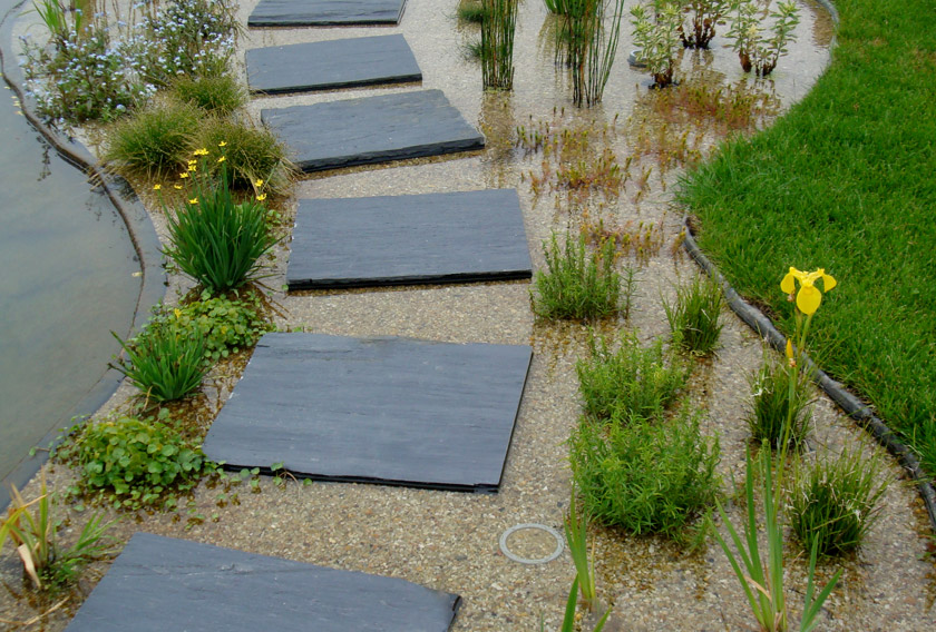 Infercoa for gardens: Japanese steps