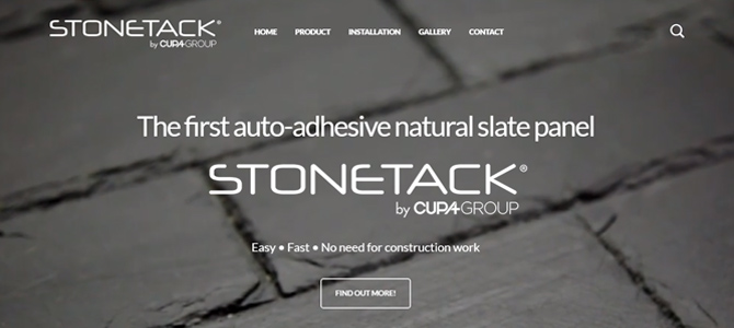 The new CUPA STONE website