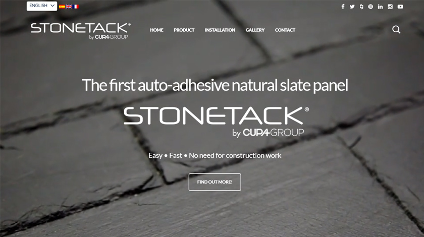 The new STONETACK website
