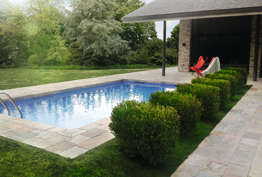 Quartzites for pools