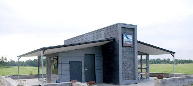 Storadalen Golf Club with a Stonepanel facade