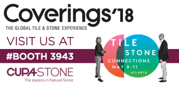 CUPA STONE at Coverings 2018