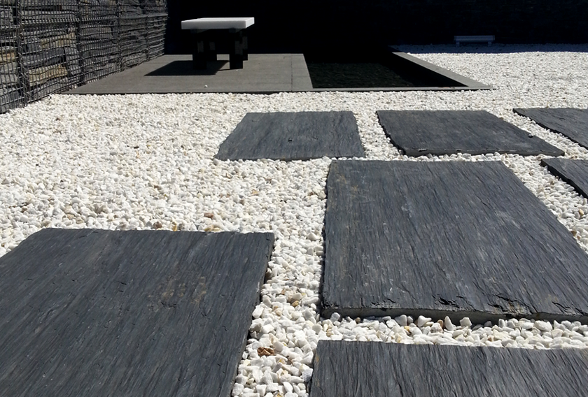Infercoa natural slate for walkways