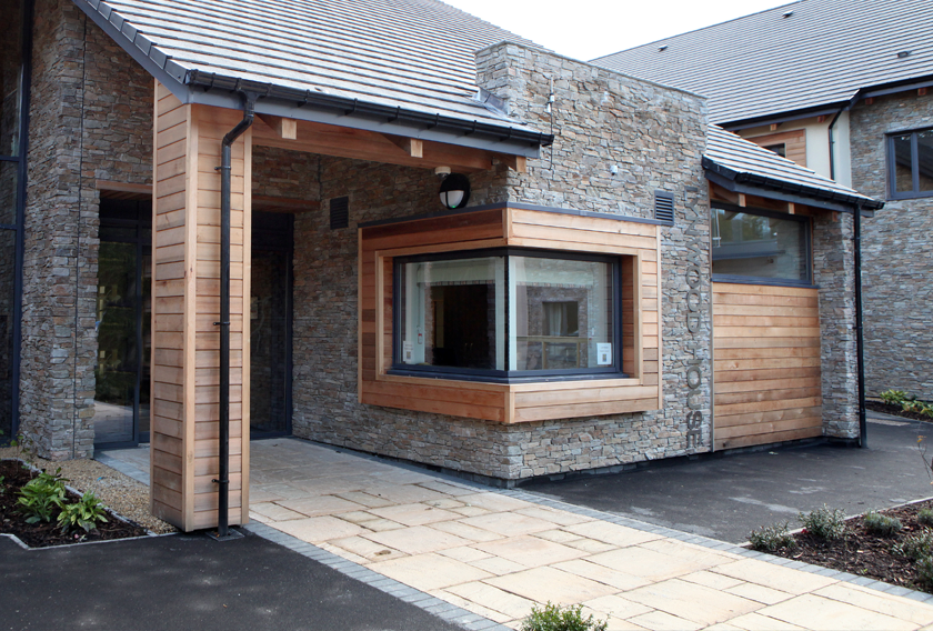 Lanchester Medical Centre has been finished in STONEPANEL™