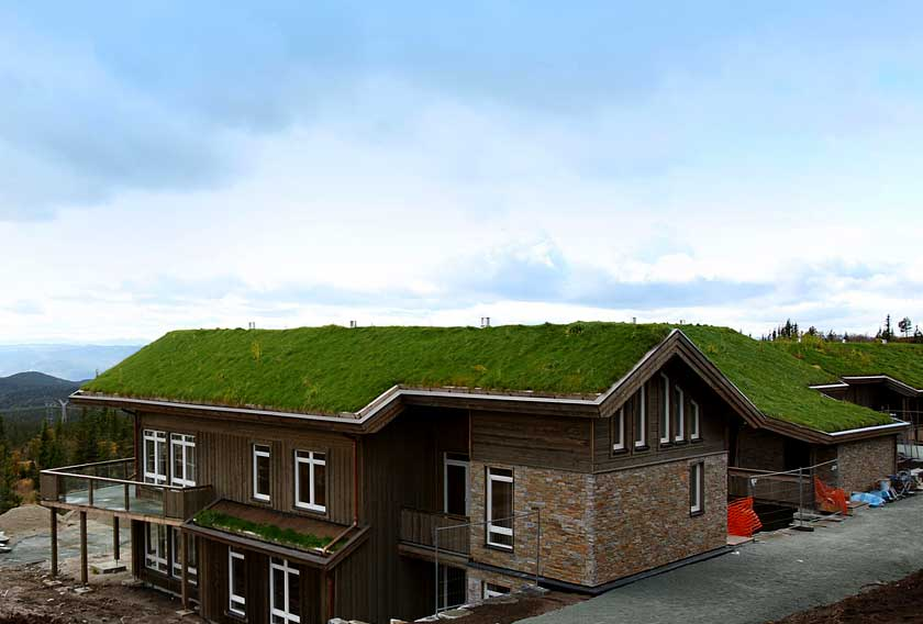 STONEPANEL™, a hight quality product to endure the rough Norwegian climate for Norefjell 903moh project
