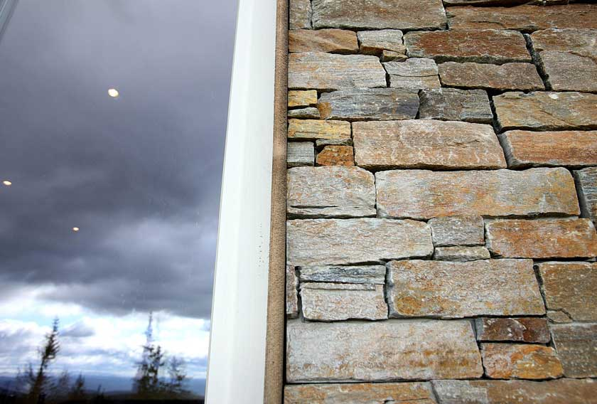 STONEPANEL, a high quality product to endure the rough Norwegian climate for Norefjell 903moh project