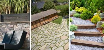 Exterior design ideas using natural stone