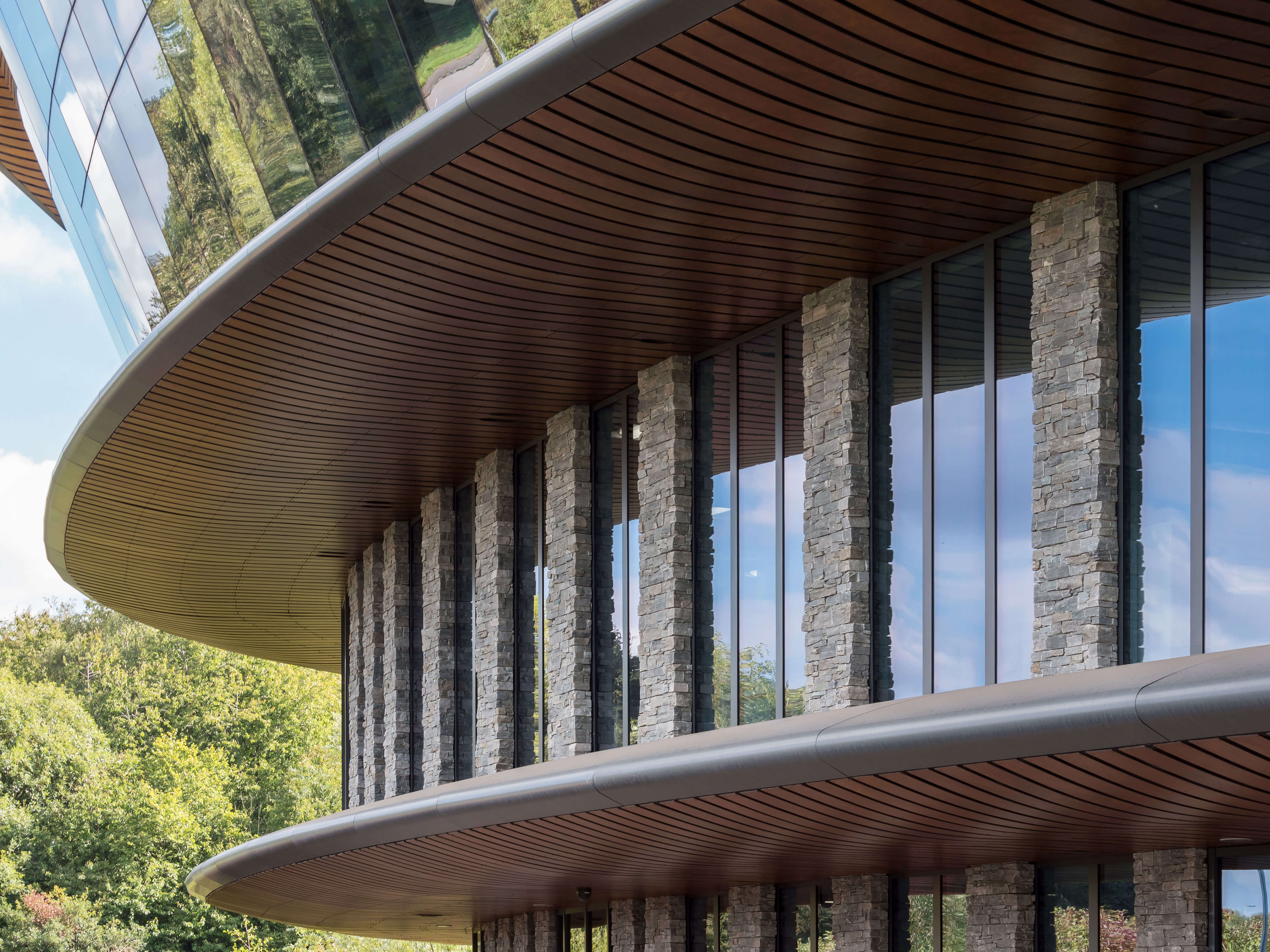 STONEPANEL provides a natural-looking for the Caudwell International Children's Centre in the UK