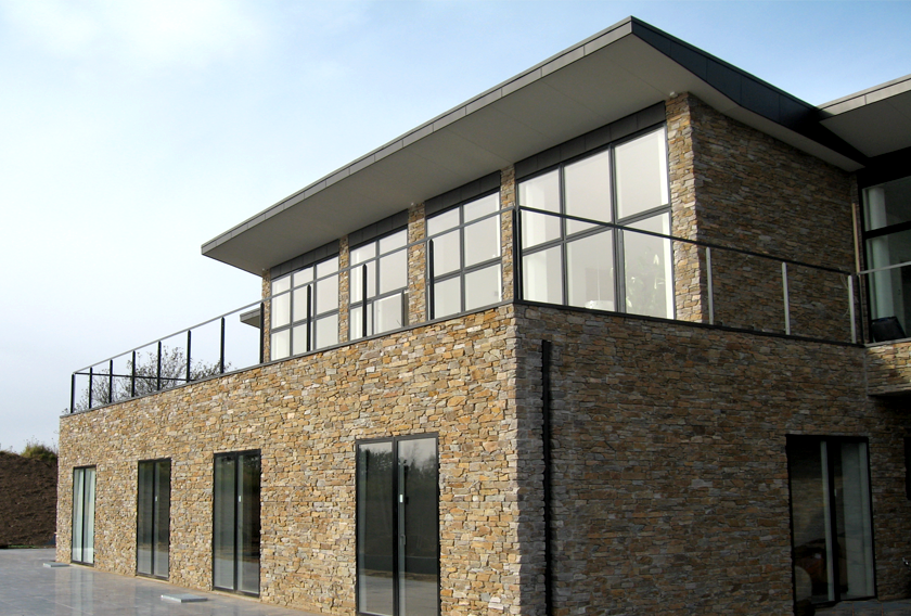 STONEPANEL for a contemporary house in Denmark