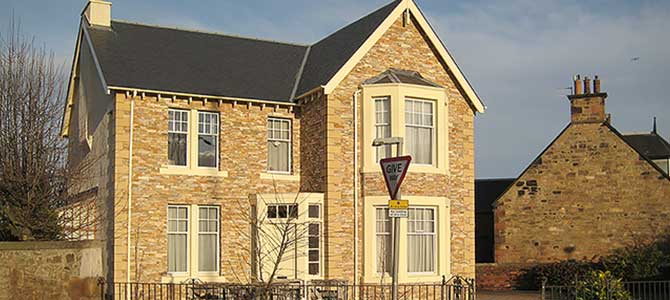 A refurbished house with Stonepanel™ Orient