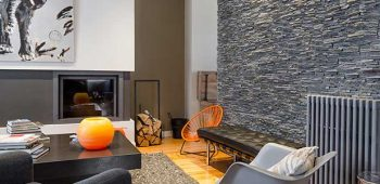 Natural stone for interior design