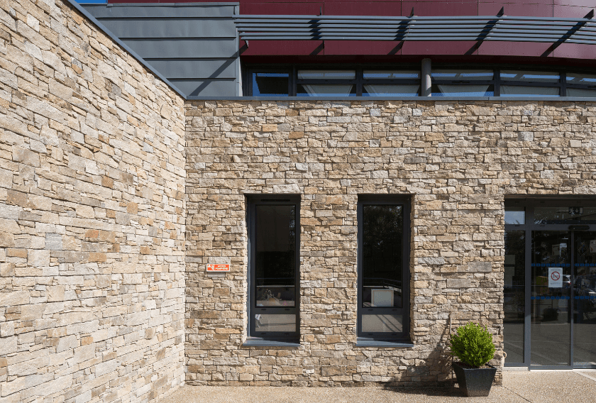 Stonepanel wall cladding solution